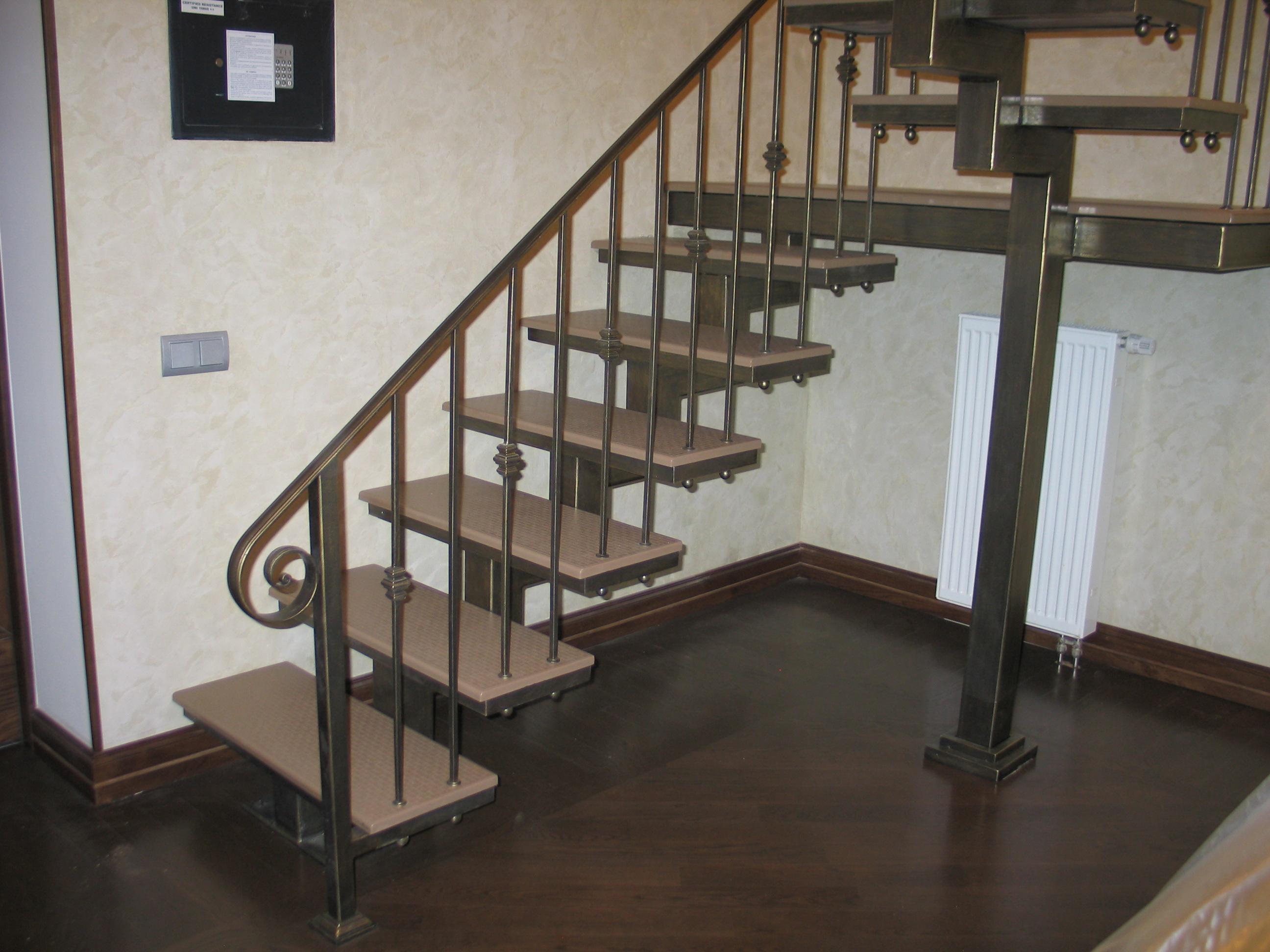 Лестница вход в дом своими руками